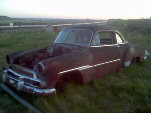 1952 Chevy deluxe parts car
