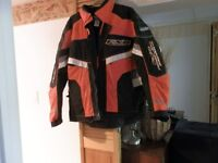 FXR Snowmobile Jacket Matching boots and mitts