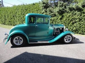 1930, Ford Model A, Street Rod, 5 Window Coupe,
