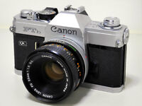 * WANTED: Canon SLR film camera *