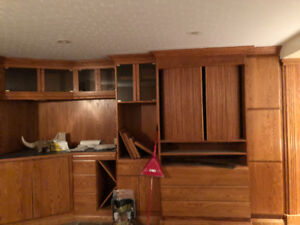 Wood cabinets and cupboards for sale