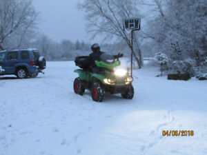 ONE MINT ARCTIC CAT EFI ATV, ,ITS SHOWROOM(AND MONSTER)