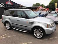 2005 Land Rover Range Rover Sport 4.2 V8 Supercharged 5dr Petrol silver Automati