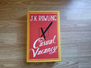 The casual vacancy (hard cover) by JK Rowling