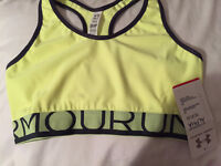 UNDER ARMOUR SPORTS BRA- SIZE SMALL