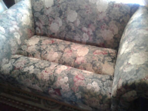 Floral Patterned Couch