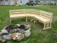 Cedar Benches