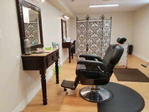 Eyebrow threading, Facial, Waxing, Mani, Pedi, hair cut and more