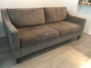 "Moving! Selling West Elm Paidge Sofa (72.5"") $600 or best offer"