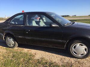 1998 Toyota Tercel Coupe (2 door) - not safetied