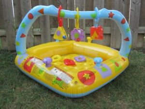 Inflatable Baby Pool With Toys