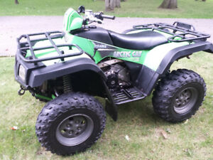 Arctic Cat 400 FIS (semi-automatic)
