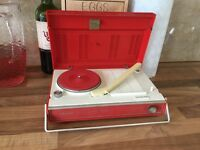 Sanyo portable record player