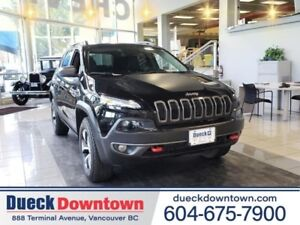 2018 Jeep Cherokee Trailhawk Leather Plus  - Leather Seats
