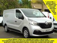 2016 RENAULT TRAFIC SL27 BUSINESS 1.6 DCI 120 L1 SWB IN METALLIC SILVER WITH AIR