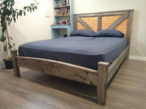 Solid Wood Bed Frame - Limited Edition
