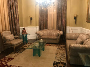 Custom Italian made Sofa Set