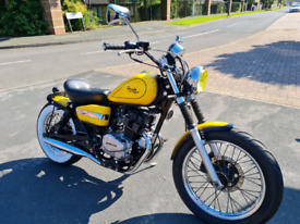 Honda rebel 125cc bobber