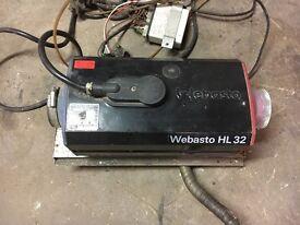 3.2kW Diesel 12V Night heater