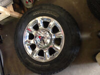 4 Ford Heavy Duty Tires & Rims