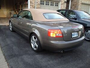 Audi A4 3.0 Convertible trade only with benz