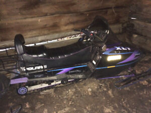 1996 Polaris Indy XLT SKS Long Track 2up
