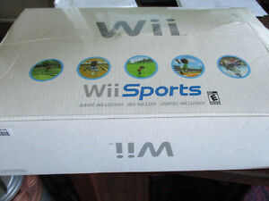 Nintendo Wii sports with 4 games