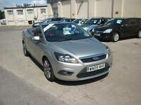 2009 Ford Focus CC Convertible Just 20k 2.0TDCi ( 136ps ) CC-2 Finance Availabl
