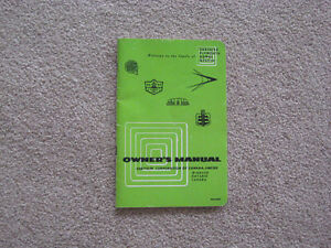 Original - Owner's Manual Chrysler Corporation 1956