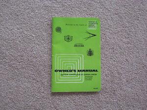 Original - Owner's Manual Chrysler Corporation 1956