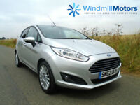 FORD FIESTA 1.0 TITANIUM (s/s) 5DR SILVER - ZERO TAX - LOW INSURANCE -GREAT SPEC
