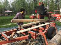 Sawmill service - mill your own trees into timbers!