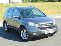 2012 (62) Honda CR-V 2.2i-DTEC SE+T WITH SAT-NAV , BLUE-TOOTH, FSH