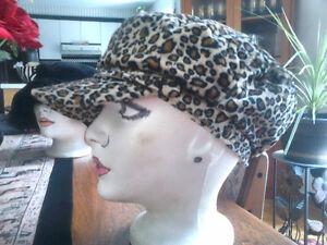 Ladies Cute Leopard Print Hats West Island Greater Montréal image 4