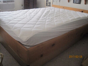 BED With Frame and Mattress can be a waterbed too...