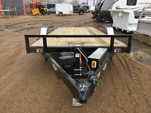 2016 HH 8.5X18 MX SPEEDLOADER HYDRAULIC TILTBED