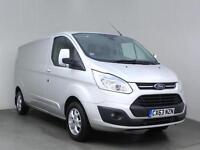 2013 FORD TRANSIT CUSTOM 2.2 TDCi 290 L2H1 Limited Van LWB