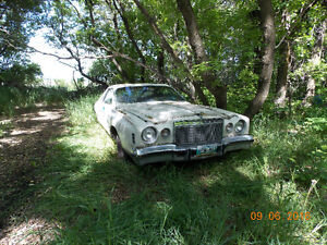 Whole Car for Parts only 1977 cordoba
