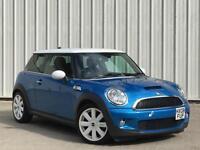 Mini Mini 1.6 ( 175bhp ) Cooper S RARE LASER BLUE WHITE ROOF PX SWAP FINANCE
