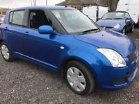 Suzuki Swift 1.3 GL 5 DOOR - 2008 58-REG - FULL 12 MONTHS MOT