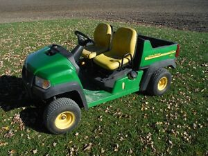 2004 John Deere CX Gator , Turf Tires,Hitch,860 Hours,Nice Cond.