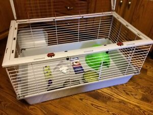 Very large rabbit cage in new condition