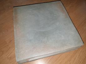 11 x Rustic Green Floor Tiles and Off Cuts