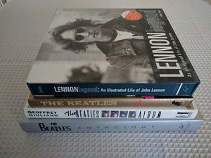 Lot of Beatles Hardcover Coffee Table Books ** GREAT DEAL **