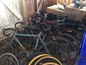 Bicycles (Lot of 8) & Many Parts