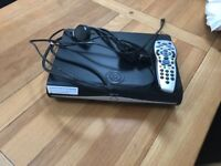 Sky box and 2 remotes