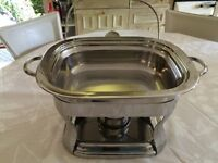 2 x Chafing dishes