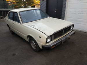 1979 Toyota Corolla low kms