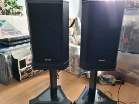 Tannoy 607 speakers with stands