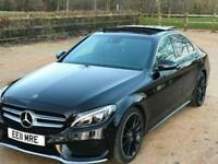 Mercedes-Benz C Class 2.1d (204ps) C250d AMG Line Premium Plus (s/s) Saloon 4d 2